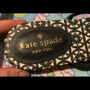 Kate Spade New York Mystic Bow Leather Flip Flop